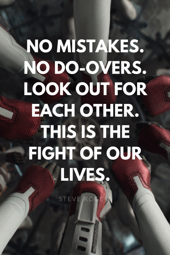 This is the fight of our lives marvel quote