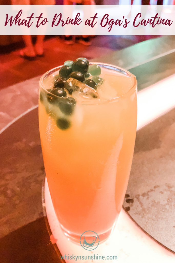 What to Drink at Oga's Cantina