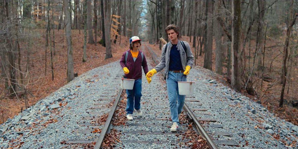 Stranger Things: Railroad Tracks