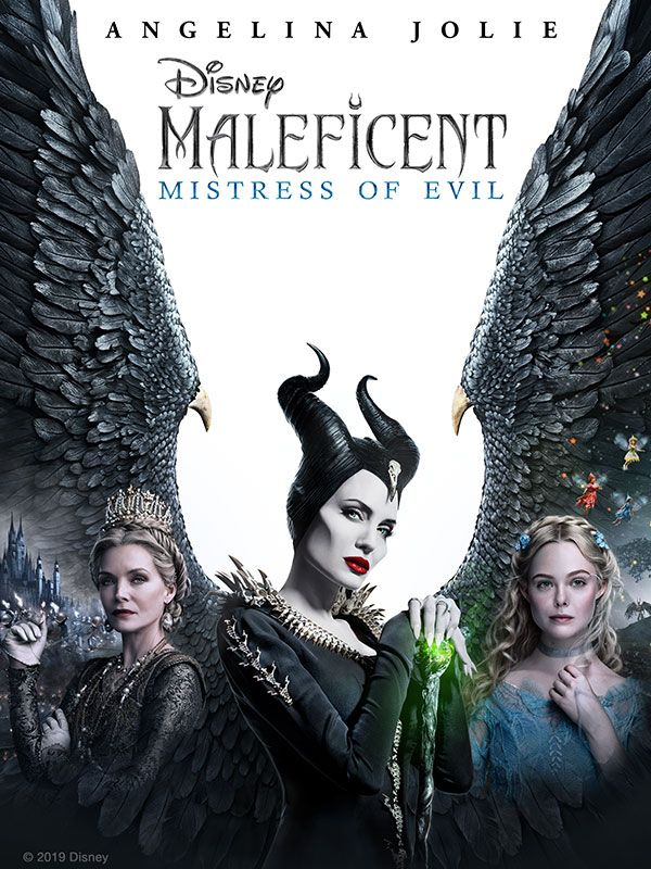 Maleficent Mistress of Evil Box art