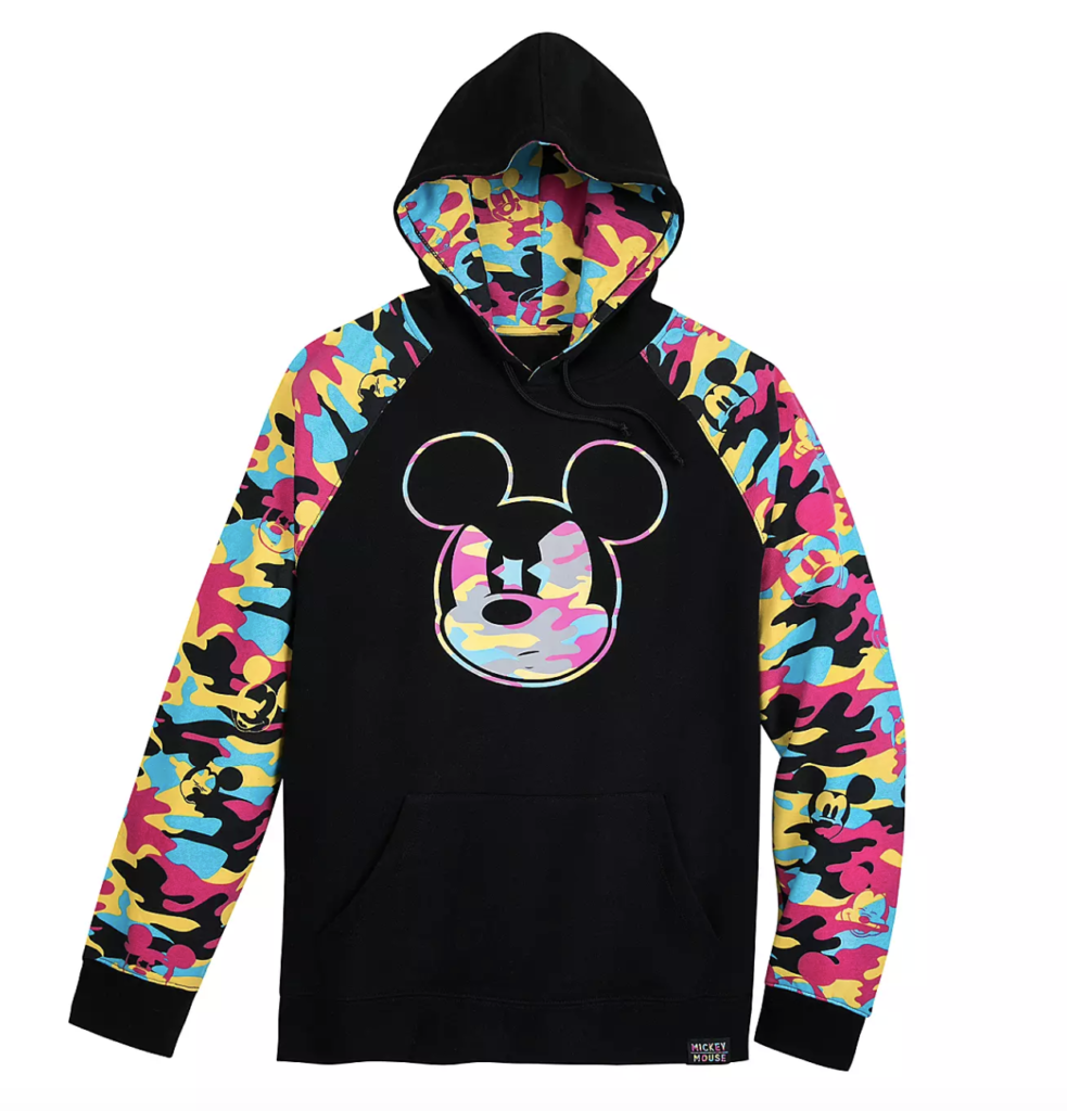 Mickey Mouse Camouflage Pullover Hoodie