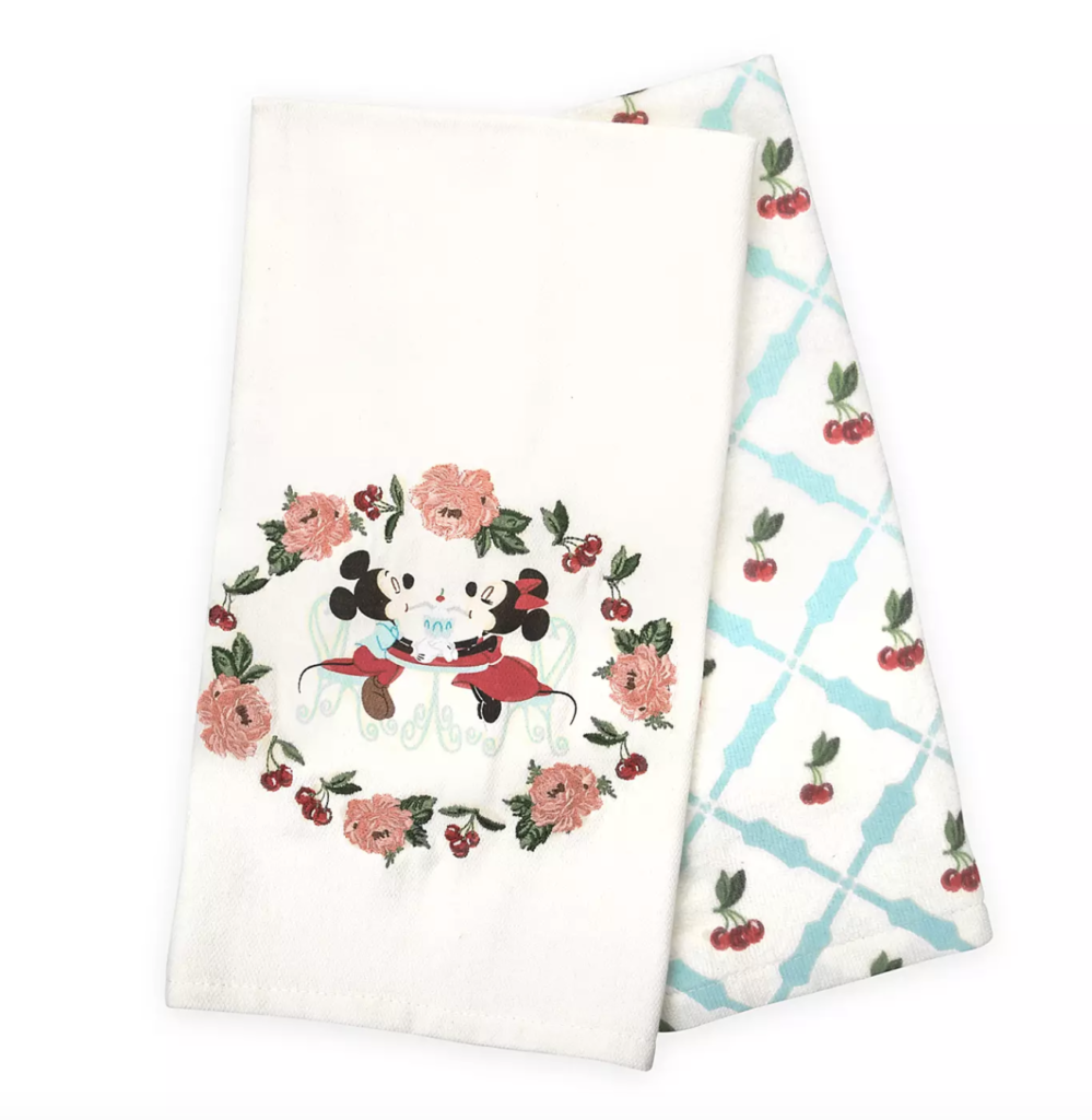 Mickey and Minnie Mouse Retro Kitchen Towel Set