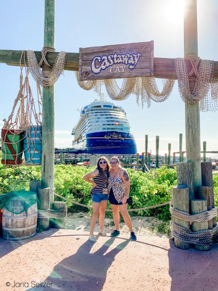 disney castaway cay farewell ship photo