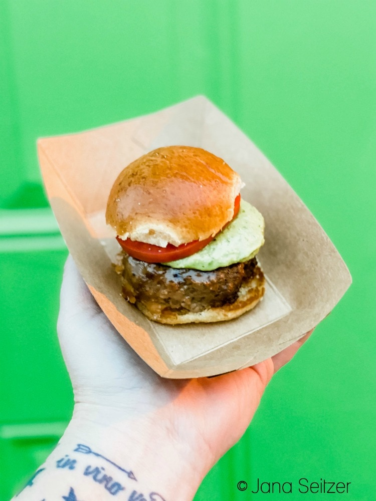 petite impossible burger disneyland food and wine festival