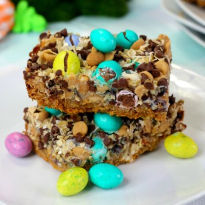 Easter Magic Cookie Bars Recipe