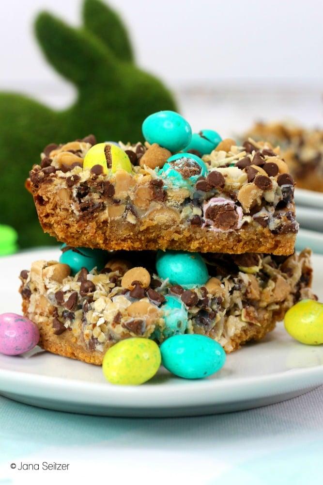 Easter Magic Cookie Bars