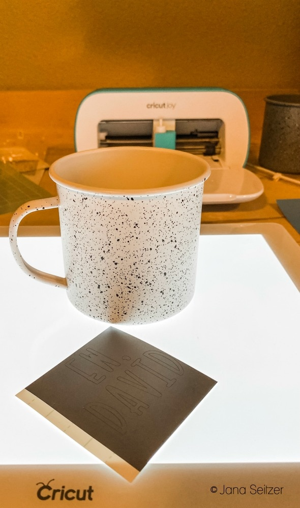 cricut joy vinyl cut and mug