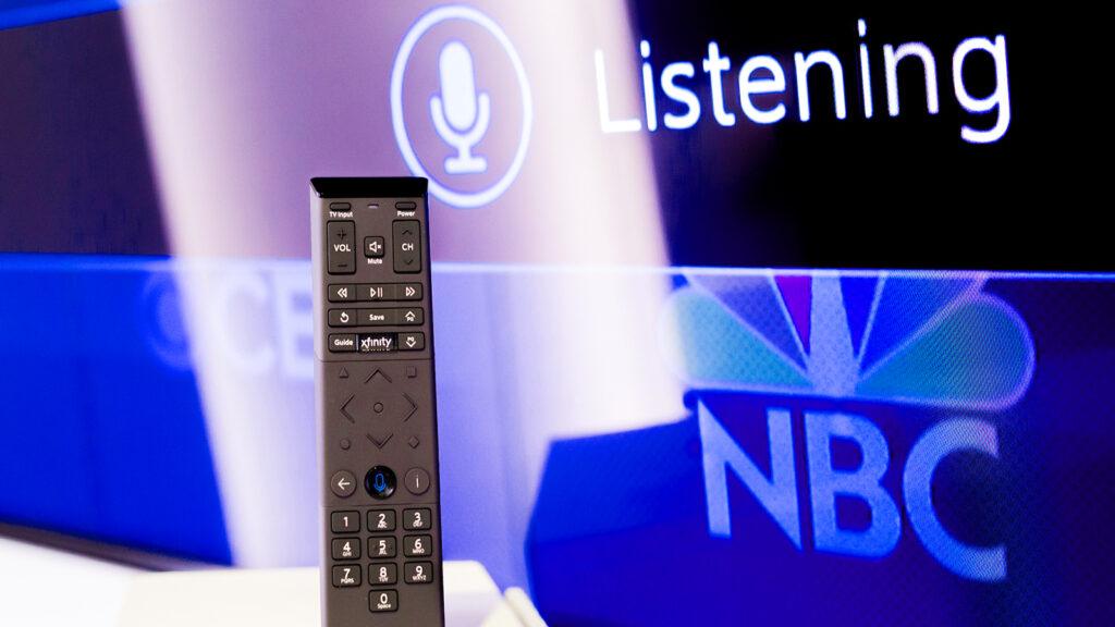 Xfinity STore Voice control remote demo