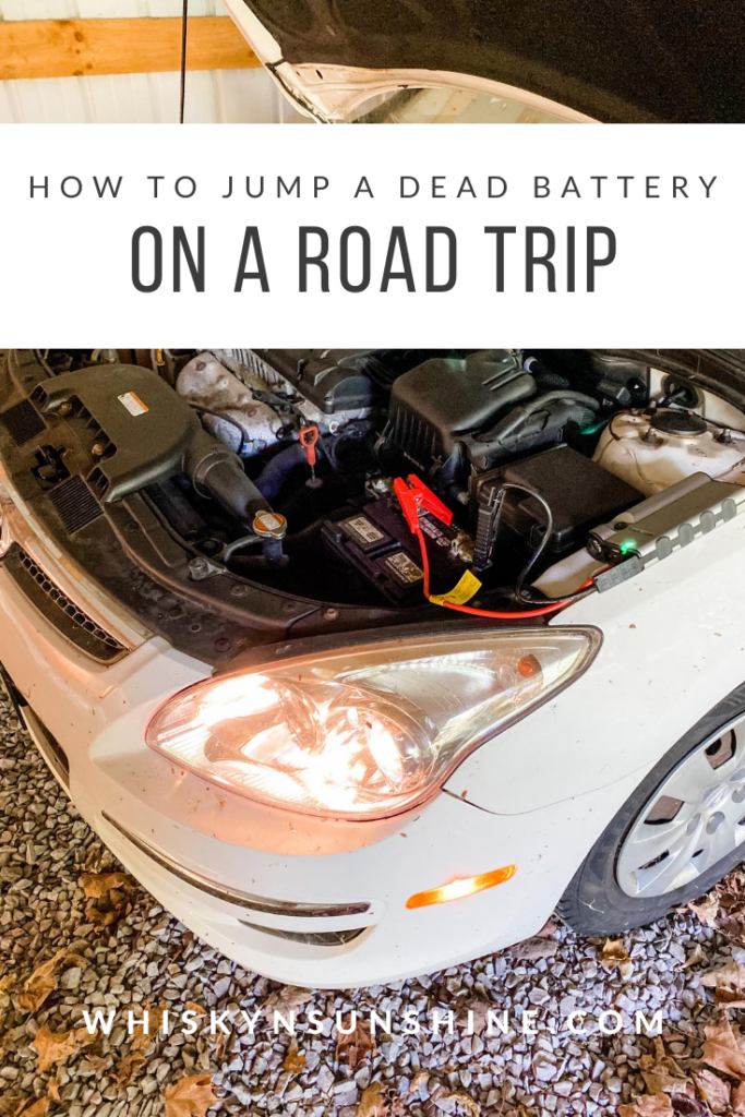 Easy Solution for Dead Car Battery on a Road Trip