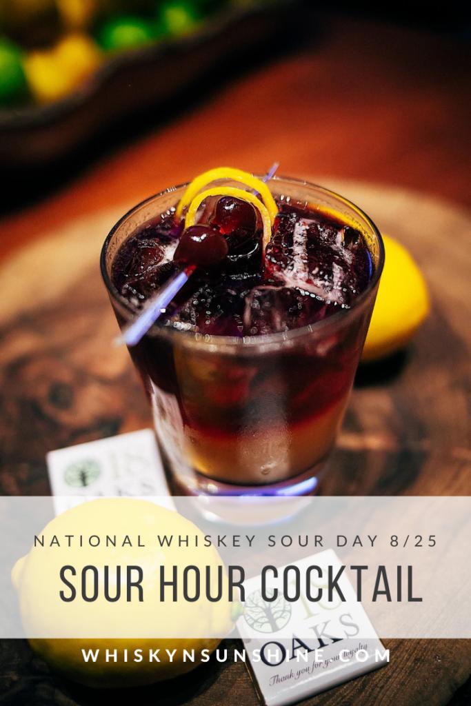 sour hour cocktail