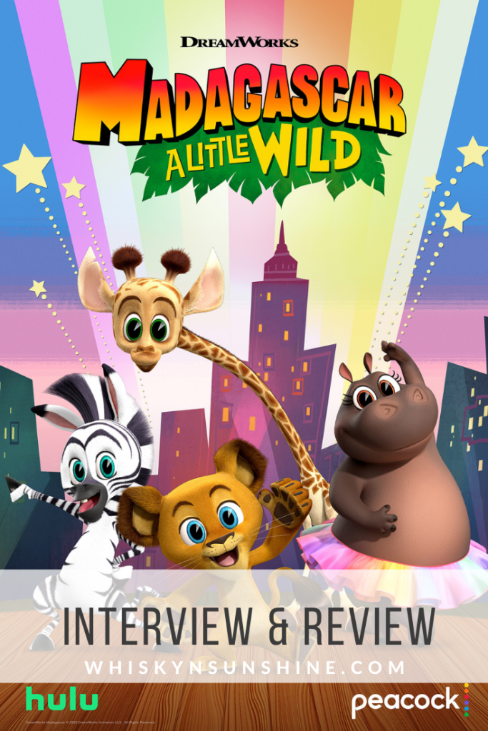 Dreamworks Animation Madagascar: A Little Wild Review and Interviews