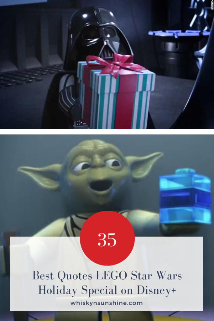 35 Best Quotes LEGO Star Wars Holiday Special