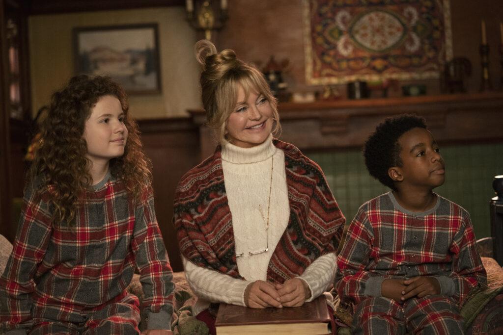Kate, Mrs Claus, Jack