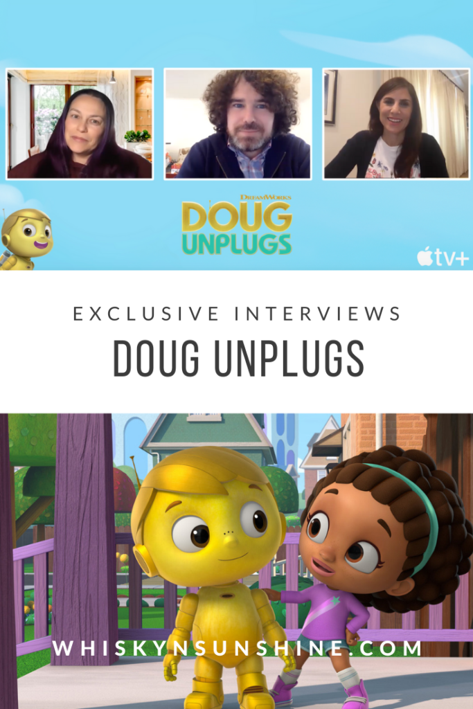 """Exclusive Interview with Jim Nolan and Aliki Theofilopoulos of """"Doug Unplugs"""""""