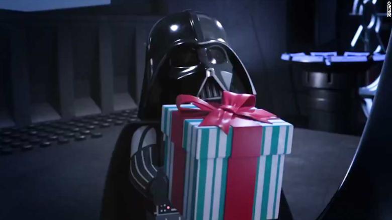 LEGO Star Wars Holiday Special Vader gift