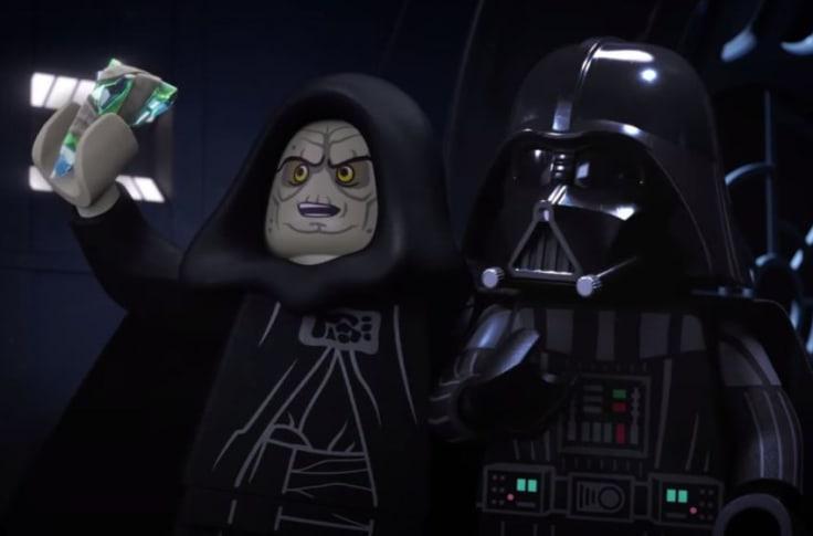 LEGO Star Wars Holiday Special palpatine