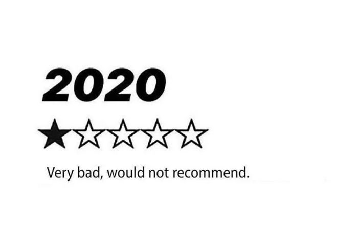 2020 would not recommend