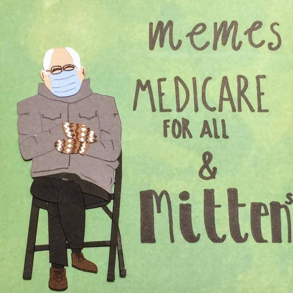 bernie healthcare meme