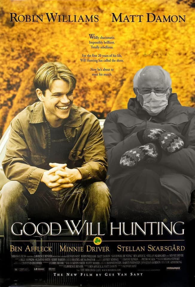 good will hunting bernia meme