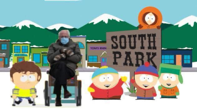 south park bernie meme