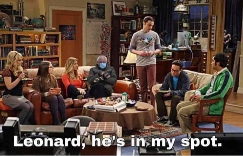 big bang theory bernie meme