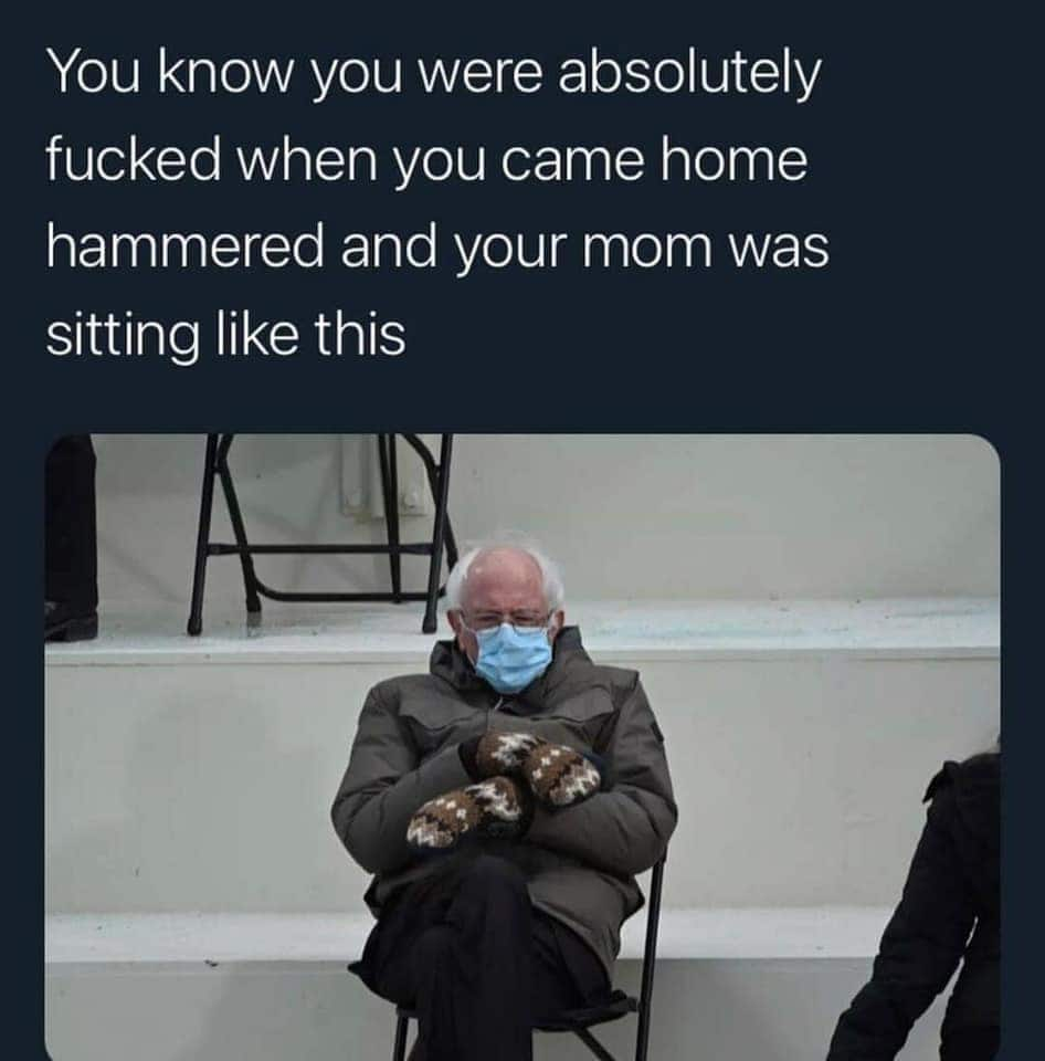 bernie mom meme