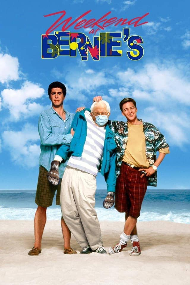 weekend at bernies meme