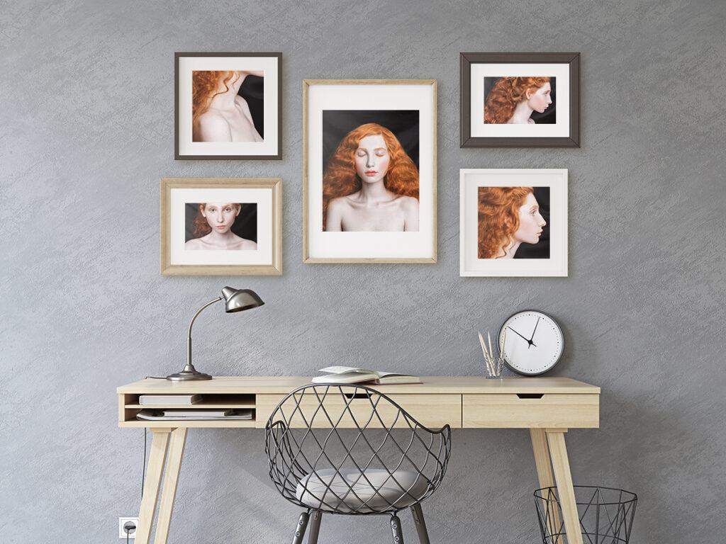 photo portraits home art gallery