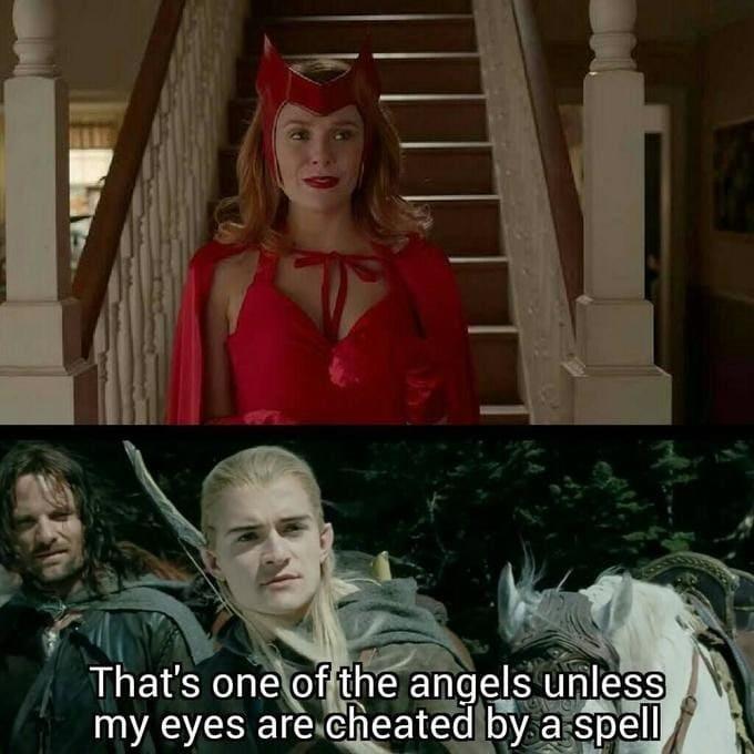 angel wandavision meme