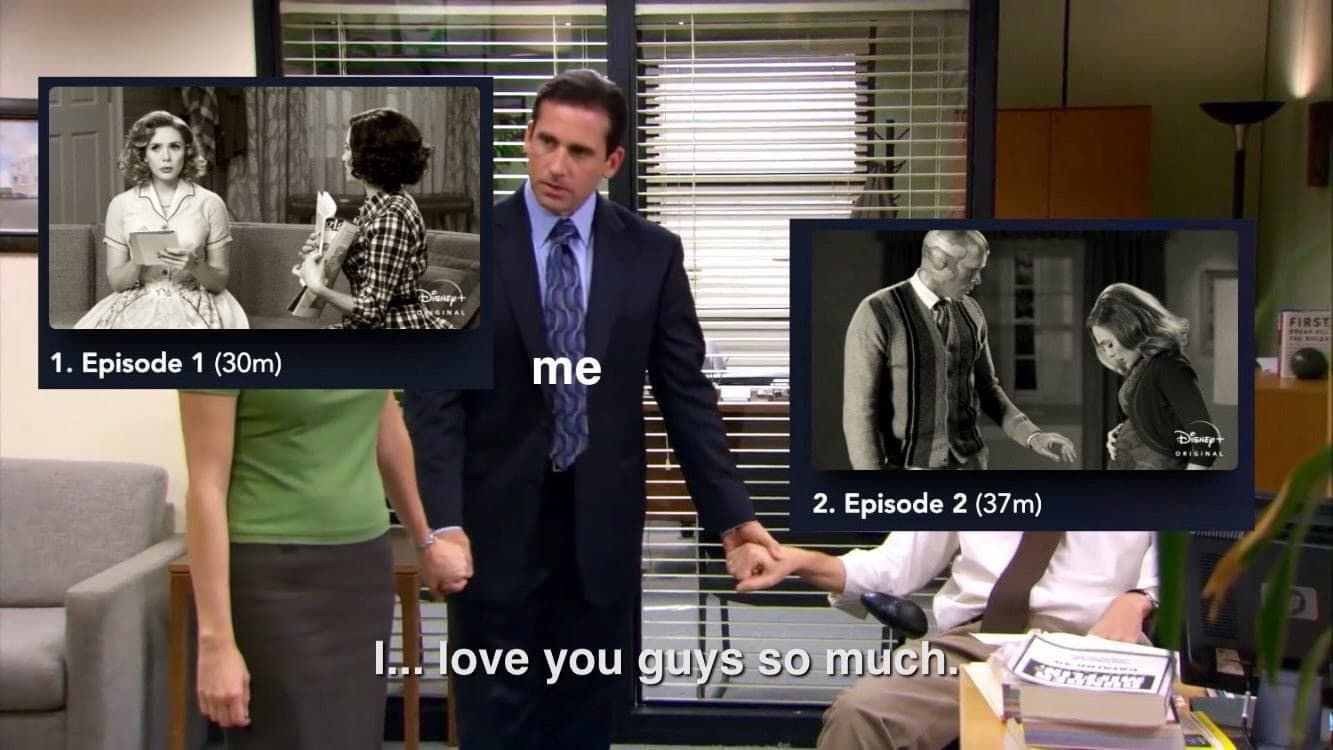 love wandavision meme