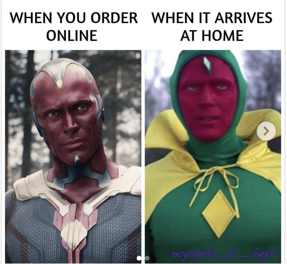 online order vision meme