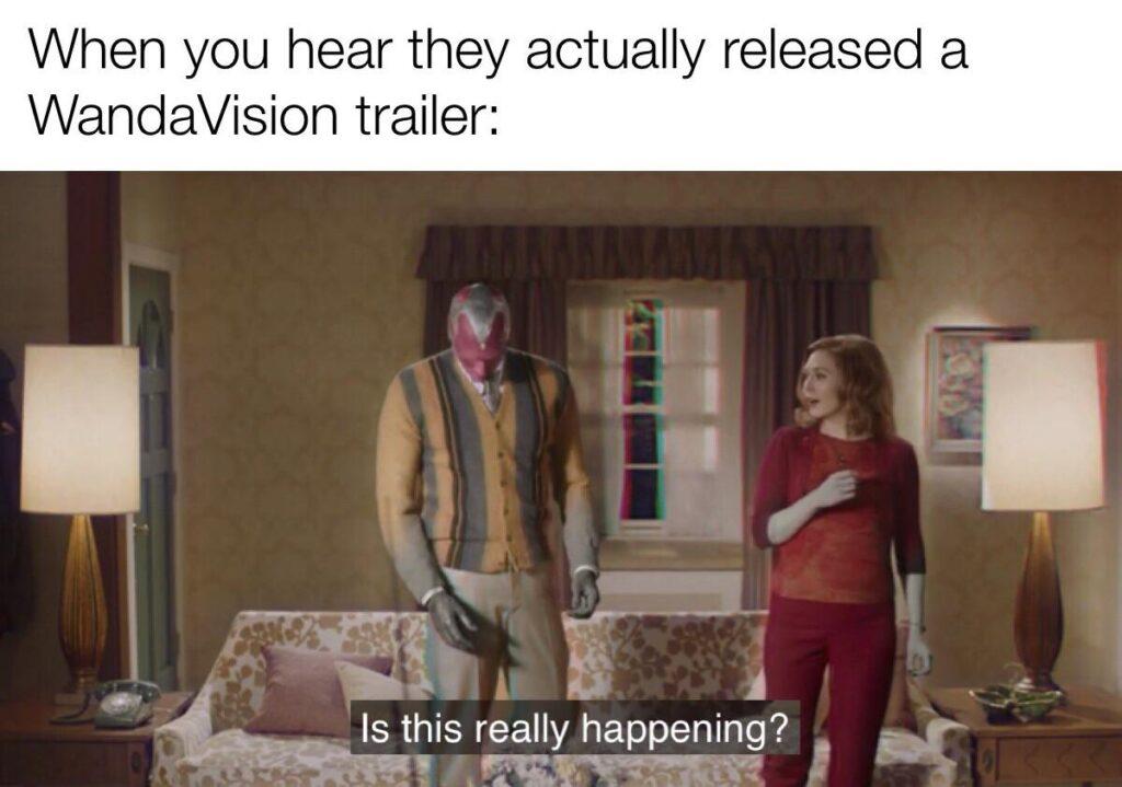 wandavision meme trailer drop