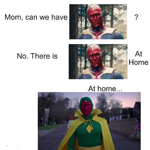vision at home meme