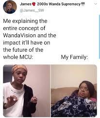explaining mcu wandavision meme