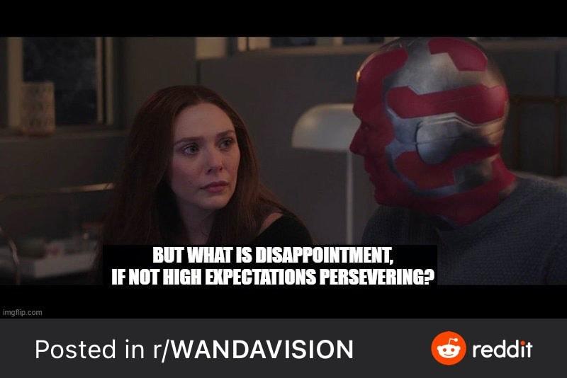 wandavision disappointment