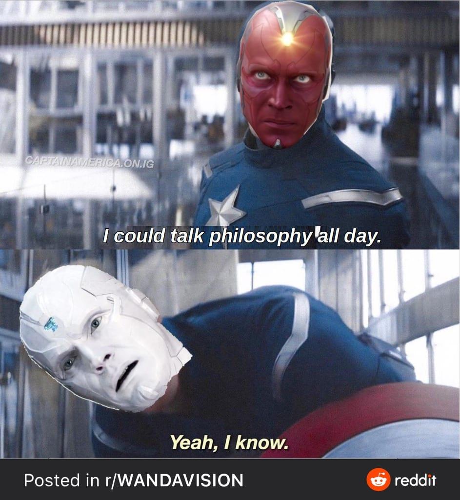 talk philosophy all day
