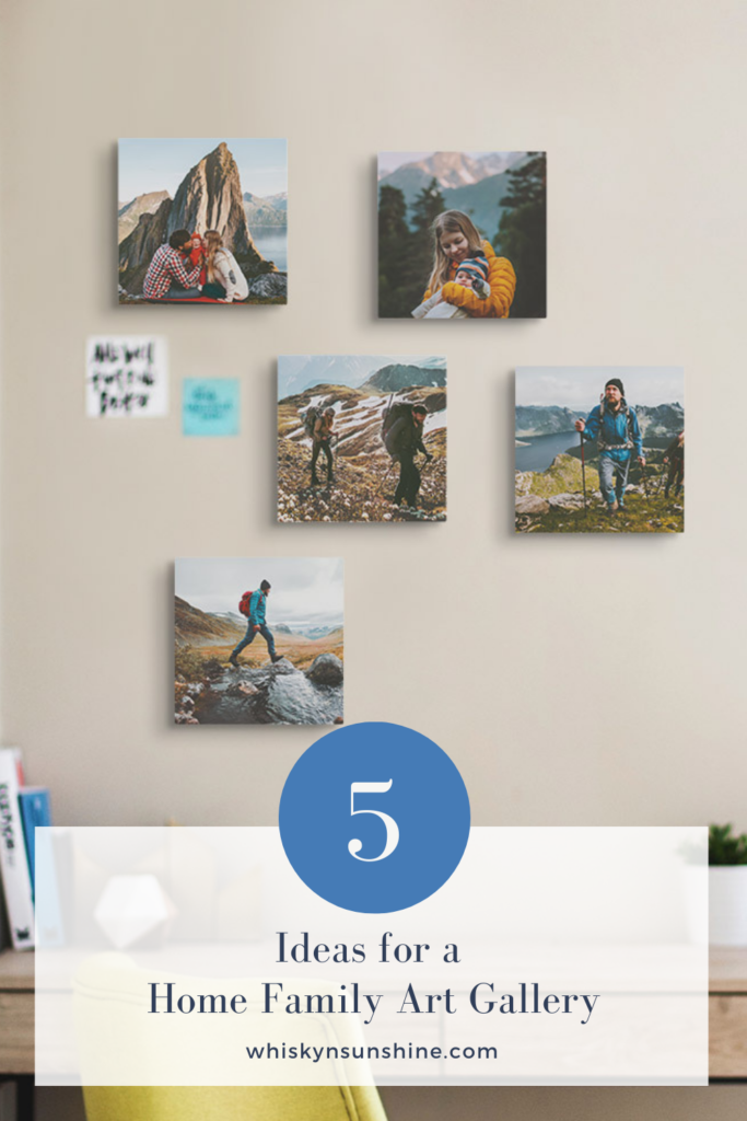 Ideas for Creating a Home Family Art Gallery