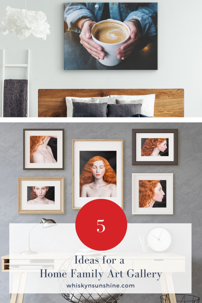 Ideas for a Home Family Art Gallery