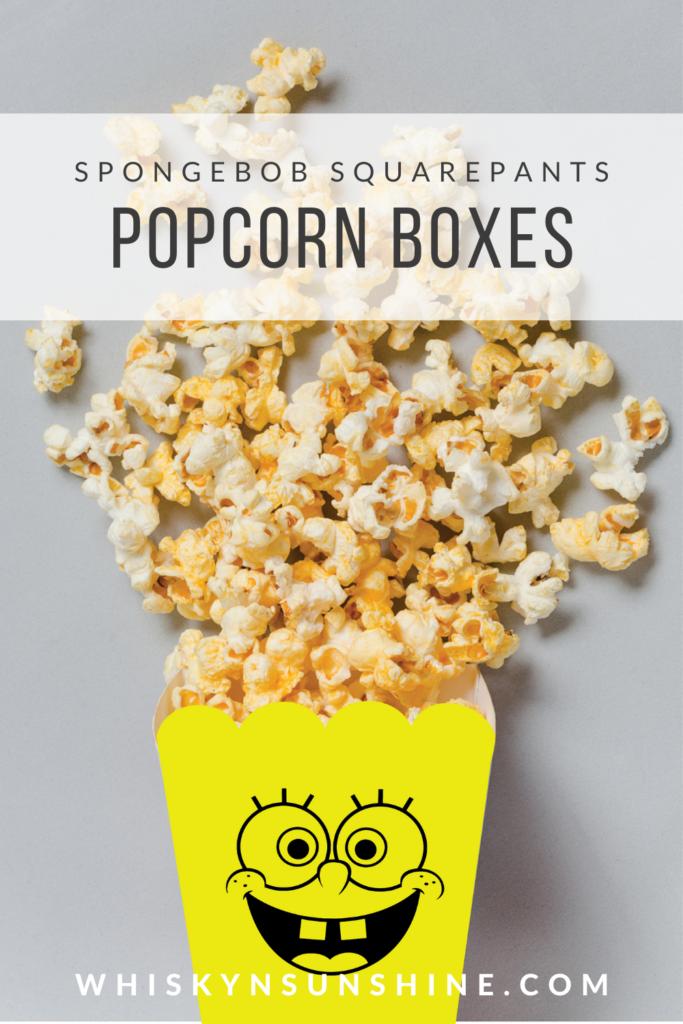 sbsp popcorn boxes