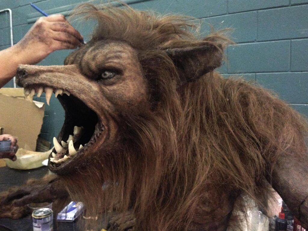 werewolf from what we do in the shadows by Steven Boyle