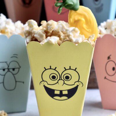 SpongeBob SquarePants Popcorn Boxes