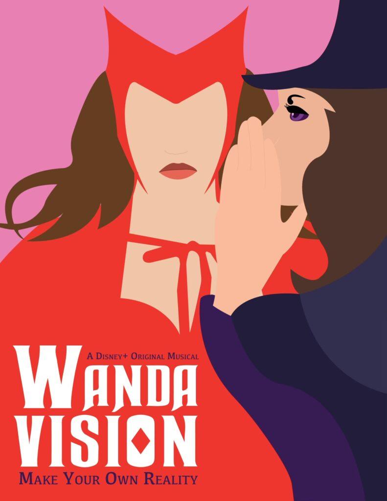 wandavision wicked fan art meme