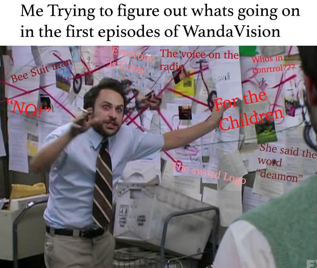 confused wandavision meme