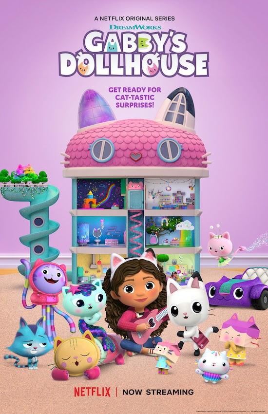 gabbys dollhouse poster