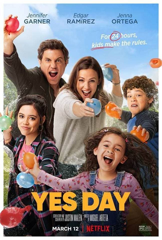 yes day on netflix poster
