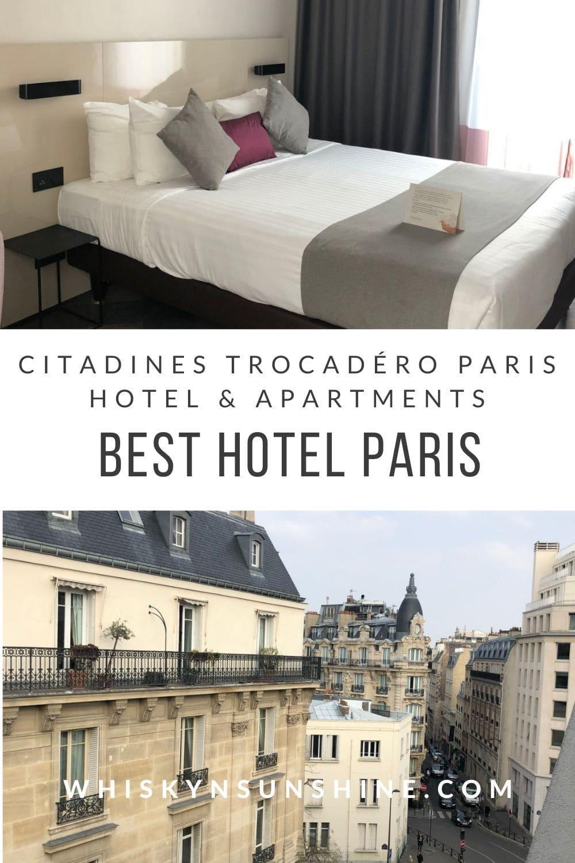Citadines Trocadéro Paris hotel and apartments