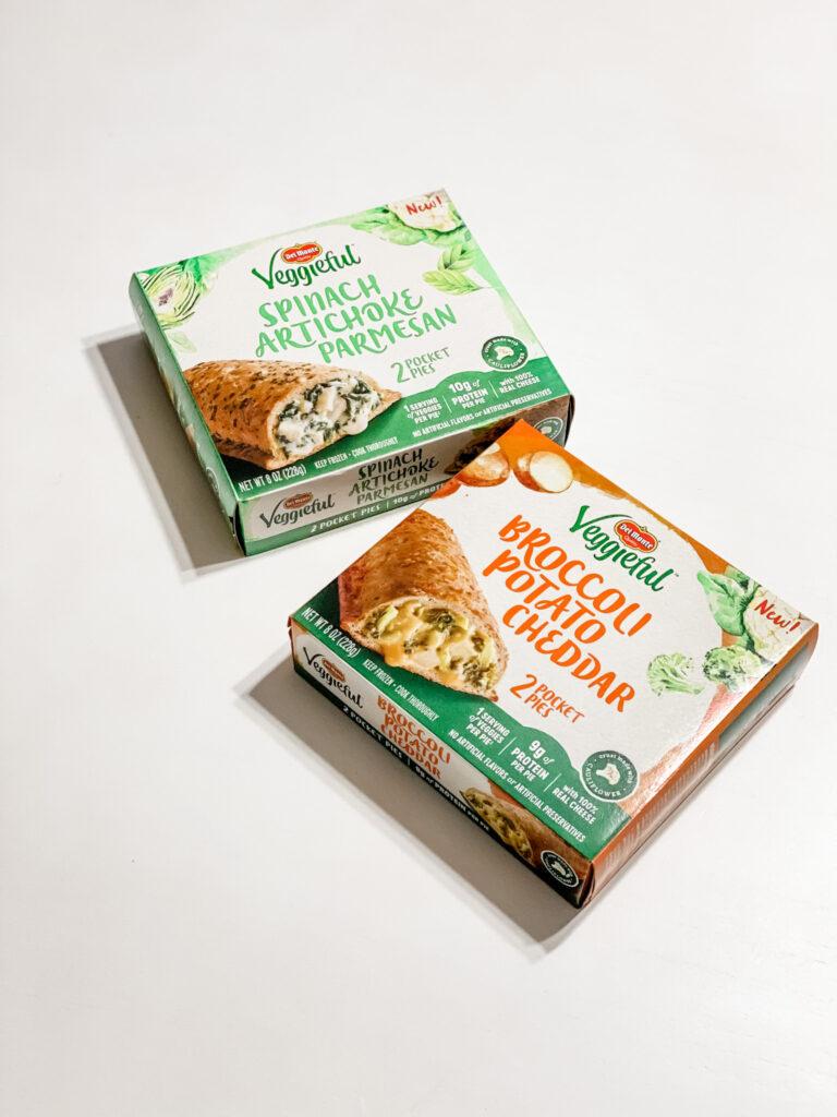 Del Monte Veggieful Pocket Pies boxes