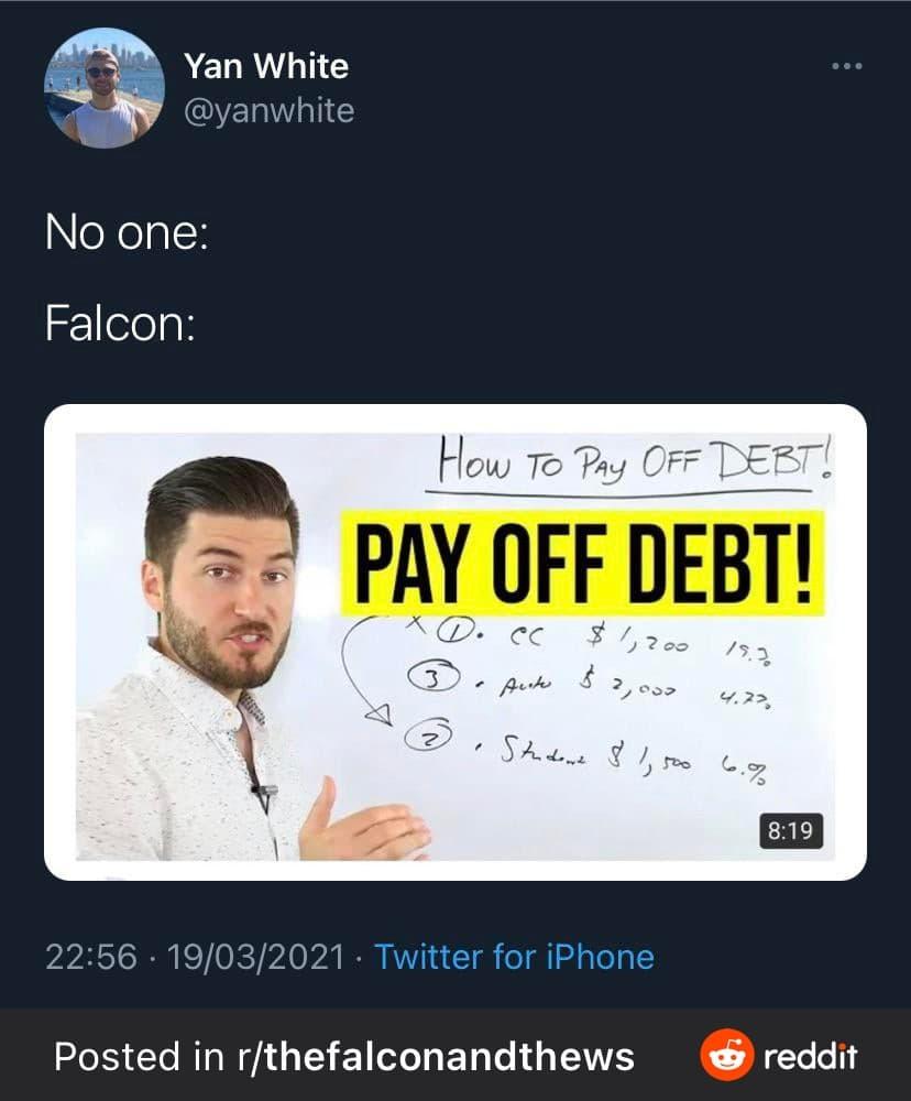 falcon debt
