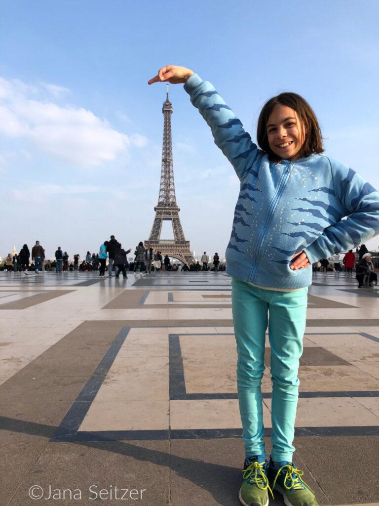 Trocadéro Eiffel Tour View
