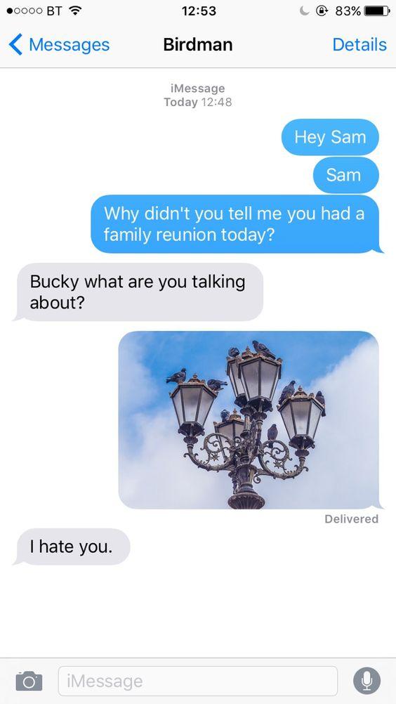 birdman texts